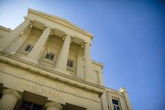 Town hall and sky Stock Image