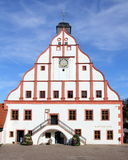 Town hall in a small german town Stock Photo