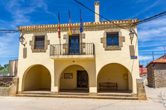 The town hall in a Spanish village Royalty Free Stock Photography