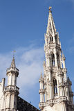 Town Hall Spire in Brussels Royalty Free Stock Photography