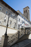 Town Hall. Spoleto. Umbria. Royalty Free Stock Photos