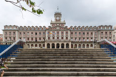Town Hall Square Ferrol, Galicia, Spain Royalty Free Stock Photos