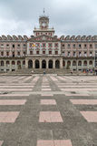 Town Hall Square Ferrol, Galicia, Spain Stock Images