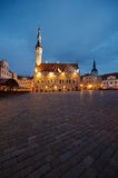 Town hall square in Tallinn Royalty Free Stock Photos
