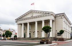 Town Hall Square, Vilnius Stock Image