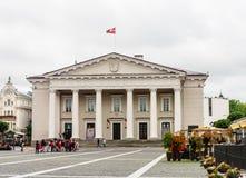 Town Hall Square, Vilnius Royalty Free Stock Photo