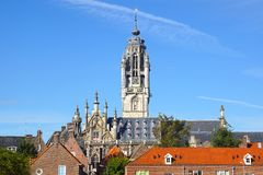 Town Hall Stadhuis, Middelburg Stock Photos