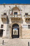 Town hall. Sternatia. Puglia. Italy. Royalty Free Stock Photo