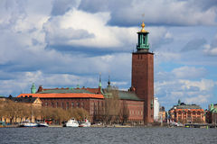 Town Hall of Stockholm Stock Photo