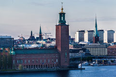 Town Hall Stockholm Sweden Stock Photography