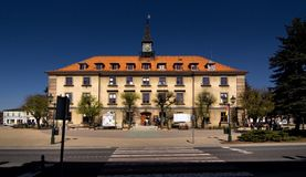 Town Hall in Swarzedz Stock Photo