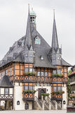 Town Hall - symbol of Wernigerode Royalty Free Stock Image