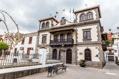 Town Hall-Teror,Gran Canaria, Canary Island, Spain Royalty Free Stock Photography