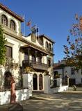 Town hall,teror,gran canaria stock photos