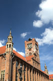 The town hall in Torun (Poland) Royalty Free Stock Images