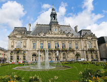 Town Hall of Tours Royalty Free Stock Photo