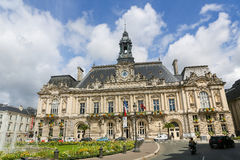 Town Hall of Tours Stock Photography