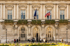 Town Hall. Tours. France Stock Photo