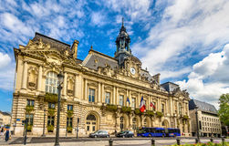 Town hall of Tours - France Stock Photo