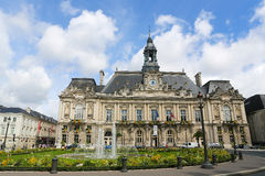 Town Hall of Tours Royalty Free Stock Photography