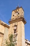 Town hall tower, Aix-en-Provence, France Royalty Free Stock Photos