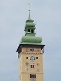 Town Hall Tower, the city of Retz royalty free stock photo