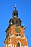 Town Hall Tower in Cracow Stock Photo