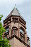 Town Hall tower Royalty Free Stock Photo