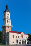 Town Hall Tower in Kamyanets-Podilskyi Royalty Free Stock Photography