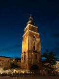 Town Hall Tower in Krakow Stock Image
