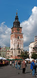 Town Hall Tower in Krakow, Poland Stock Photography