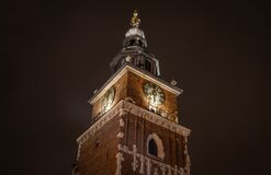 Town Hall Tower, Krakow, Poland Royalty Free Stock Image