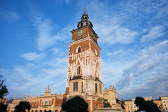 Town Hall Tower in Krakow Stock Photo