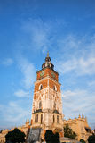Town Hall Tower in Krakow Royalty Free Stock Image