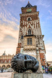 Town Hall Tower Krakow Royalty Free Stock Image