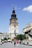 Town Hall Tower in Krakow Royalty Free Stock Photos