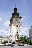 Town Hall Tower in Krakow Stock Images
