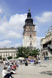 Town Hall Tower in Krakow Stock Photos