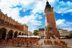 Town Hall Tower (Wieza ratuszowa w Krakowie) Stock Image