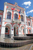 Town hall at town Ruzomberok Royalty Free Stock Photography