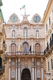Town Hall of Trapani, Italy Stock Photography