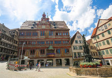 Town Hall of Tubingen, Baden-Wurttemberg, Germany Royalty Free Stock Image