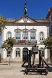 Town hall Valença do Minho. Portugal. Fortress city Valença do Minho. Portugal Stock Images
