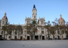 Town hall Valencia Stock Image