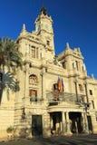 Valencia - Town hall Royalty Free Stock Photo