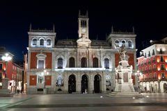 Town Hall of Valladolid, Spain Stock Images