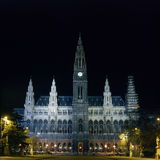 Town Hall in Vienna Royalty Free Stock Photography