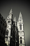 Town hall of Vienna Stock Image
