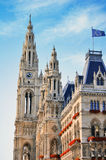 Town hall in Vienna, Austria Royalty Free Stock Images