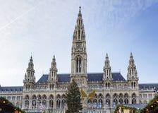 Town hall of the Vienna, Austria Stock Image